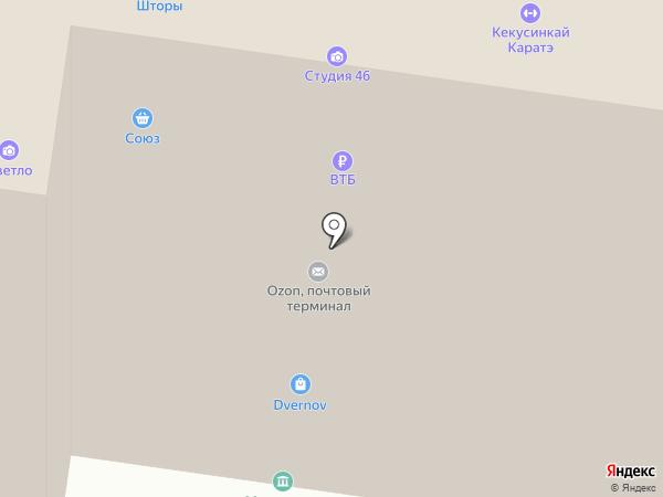 Тамрико на карте