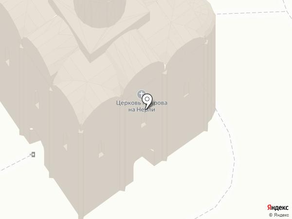 Храм Покрова на Нерли на карте
