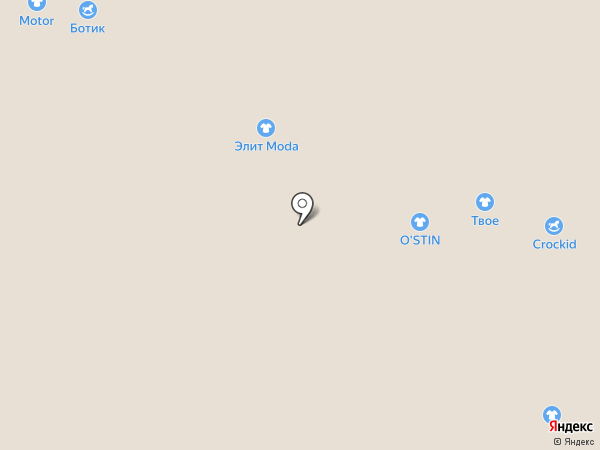 Ботик на карте