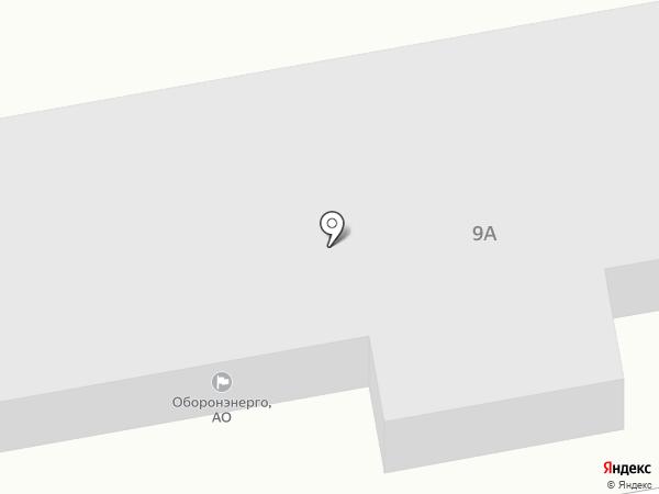 Оборонэнерго на карте