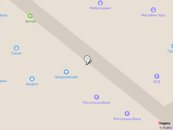 КБ Конфидэнс Банк на карте