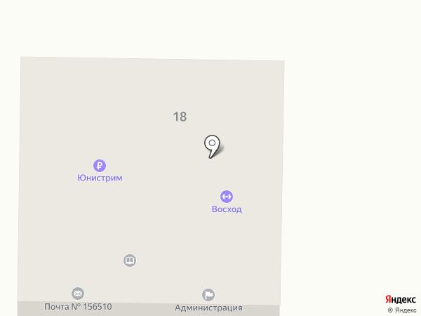 Отделение почтовой связи пос. Апраксино на карте