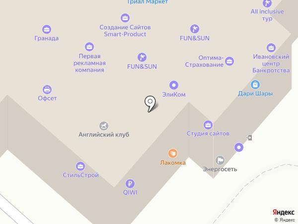 Web Cat на карте