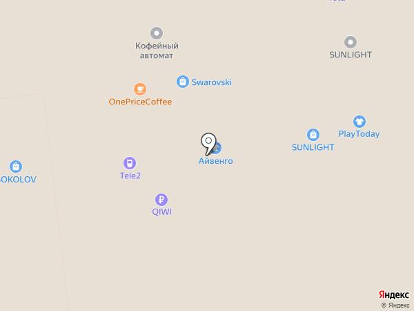 PlayToday на карте