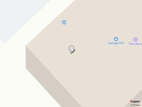 Пин-Авто на карте