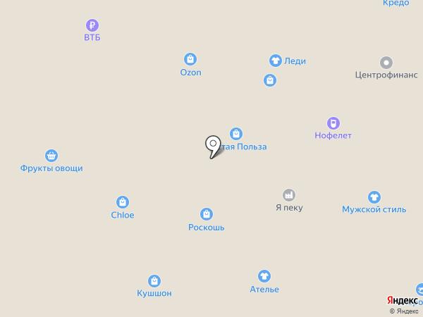 Семерочки на карте