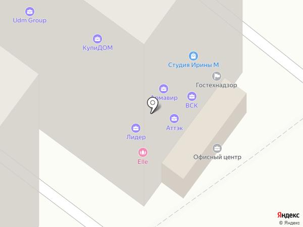 ЭЙВА на карте