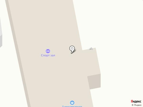 1 на карте
