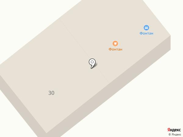 Фонтан на карте