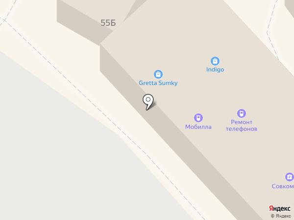МНЦ на карте