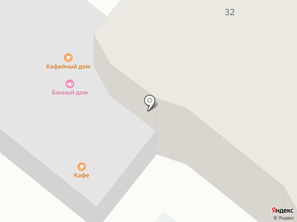 Банный дом на карте