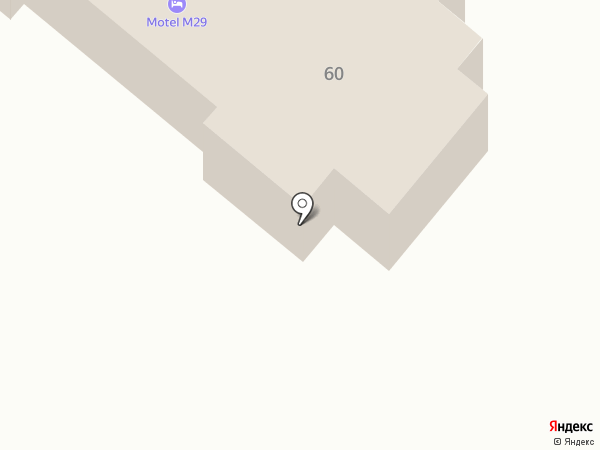 М29 на карте