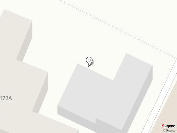 Коваст на карте