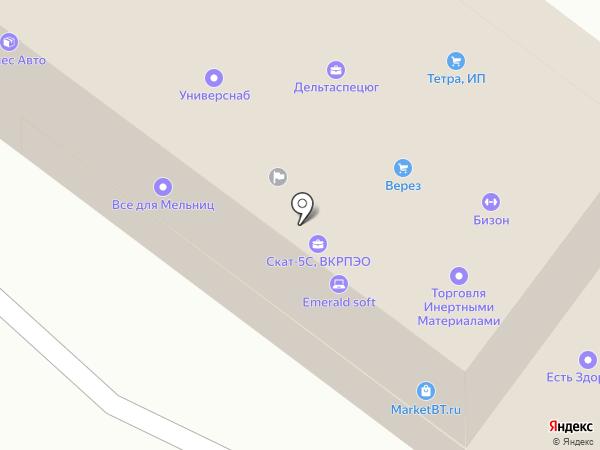Вольные мастера на карте