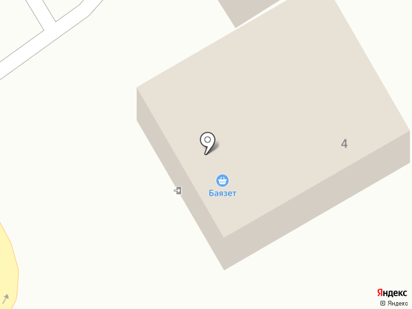 Баязет на карте