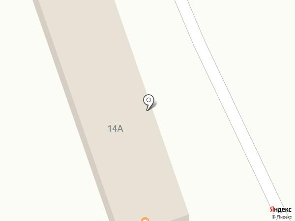 У малыша на карте