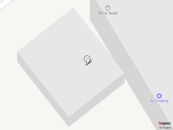 Красторг на карте