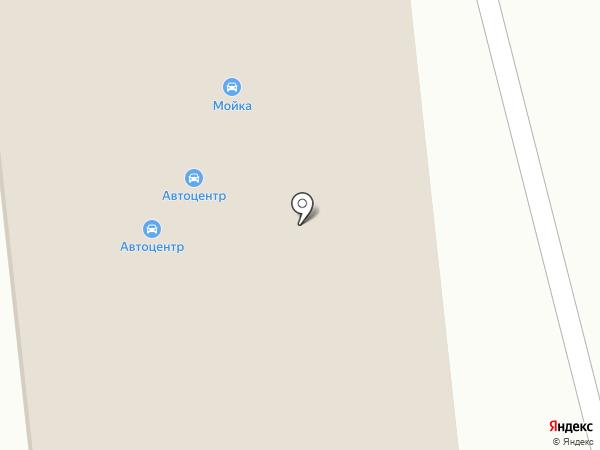 Станция технического обслуживания на карте