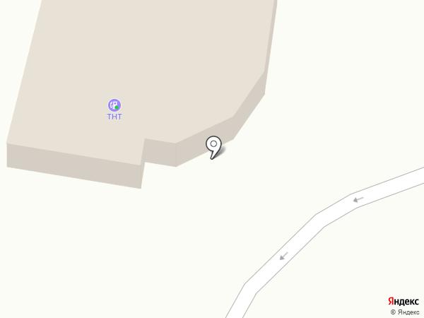 АЗС ТНТ на карте