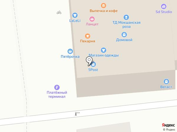Visavi на карте