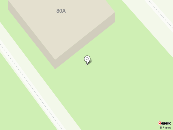 Спасательная станция г. Тамбов на карте