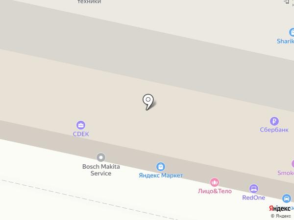 Реклама Ставрополь на карте