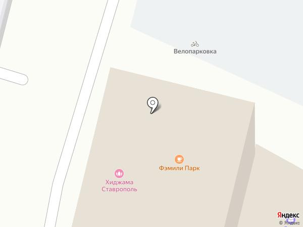 Ставрополь-Транстур на карте