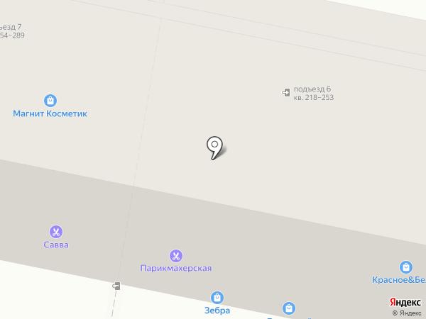 Детский на карте