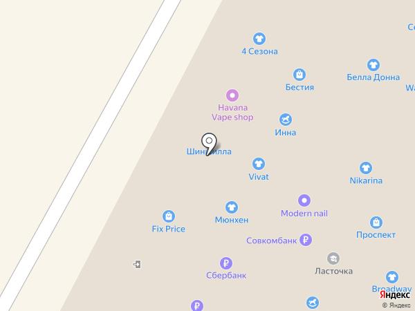 Гугуша на карте