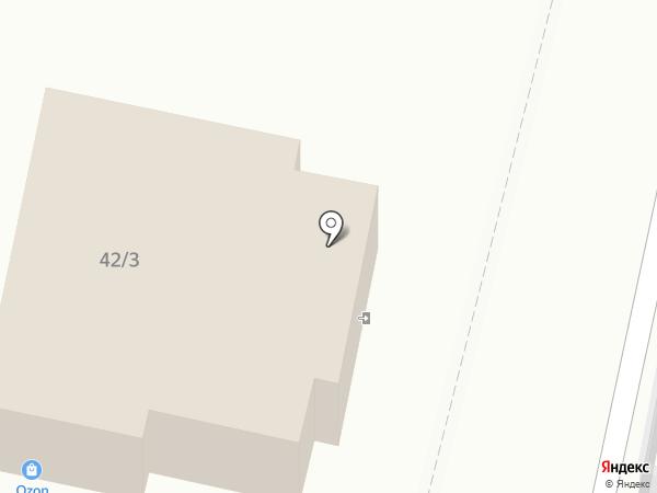 Пралине на карте