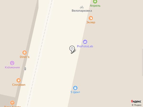 Золотая Антилопа на карте