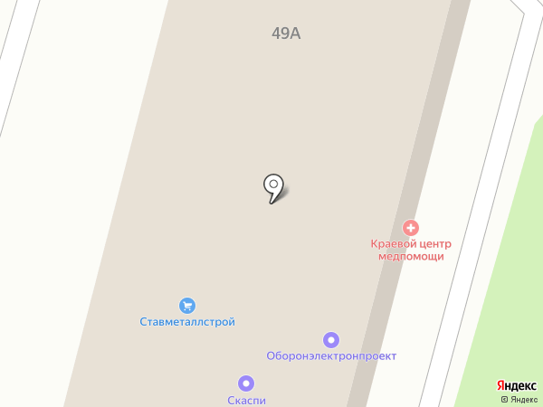 Краевой центр специализированной медицинской помощи на карте