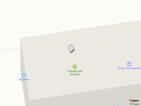 Магазин фруктов и овощей на карте