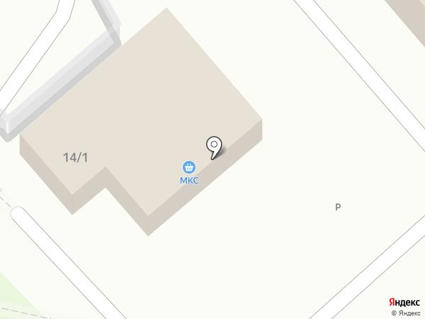 МКС на карте