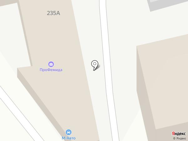 М.Авто на карте