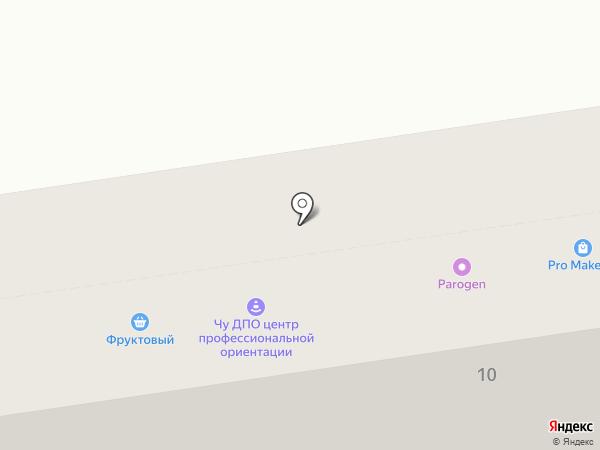 Печатная лавка на карте