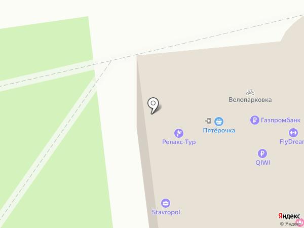 FlyDance на карте