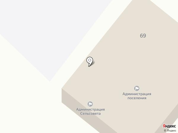Администрация Муниципального образования Пелагиадского сельсовета на карте