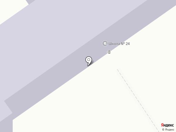 Начальная общеобразовательная школа №24 на карте