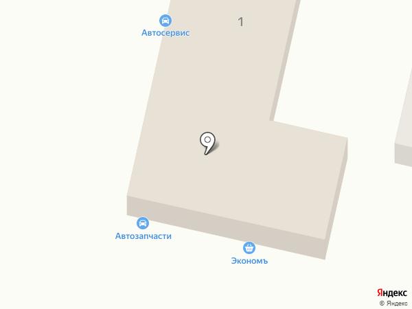 Терский на карте