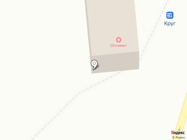 Круг на карте