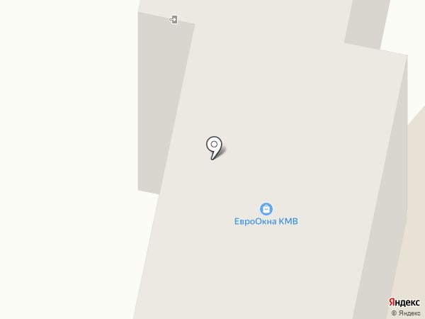 Окна КМВ на карте