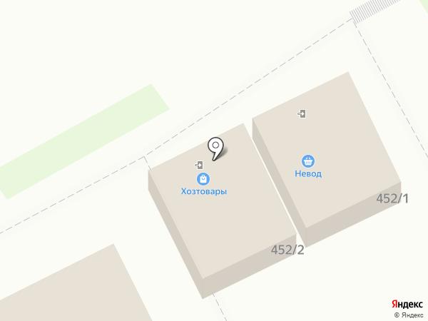 Магазин хозяйственных товаров на Октябрьской на карте
