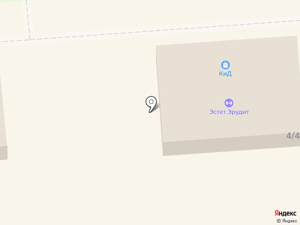 КиД на карте