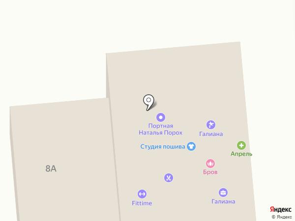 Бештау на карте