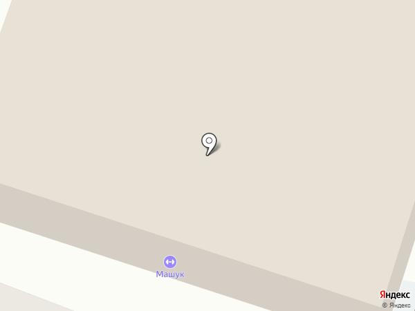 Беркут на карте