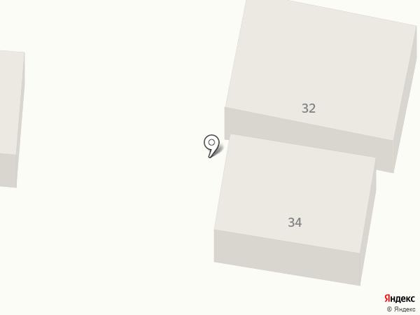 Манэ на карте