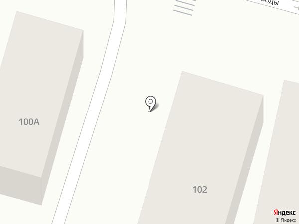 Тайавто на карте