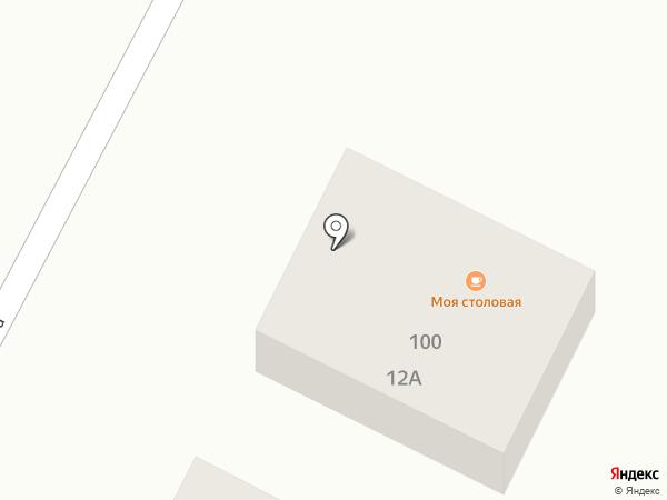 М100 на карте