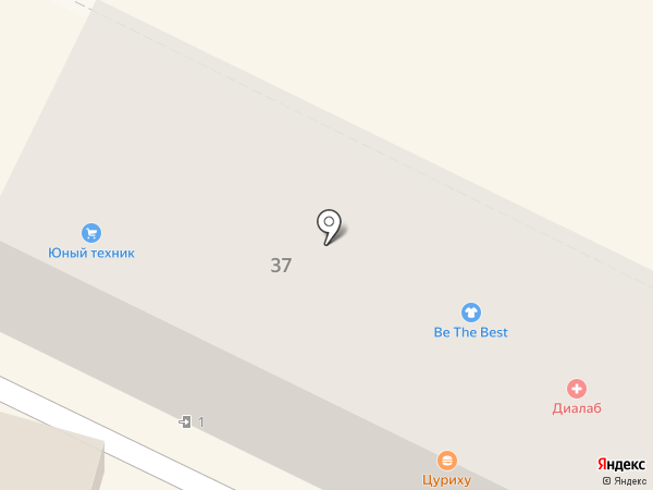 Юный Техник на карте